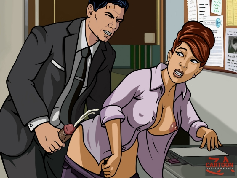 Archer and lana porn
